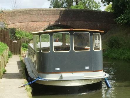 completed curved wheelhouse