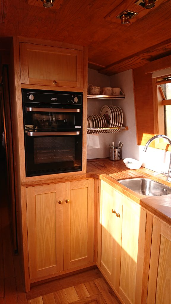 Narrowboat Galley