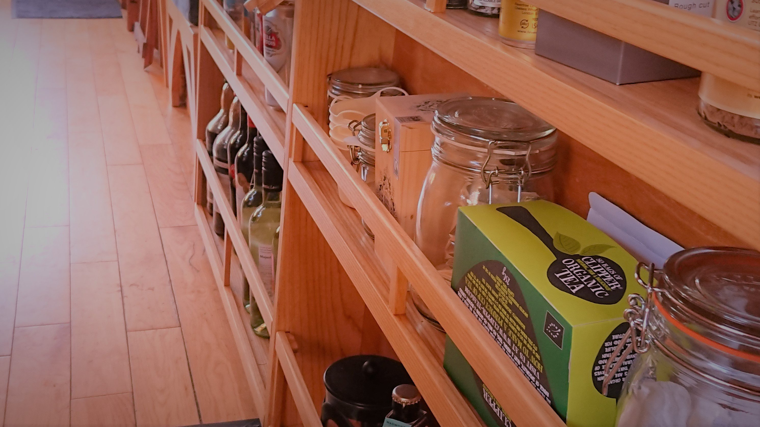 Galley Shelving